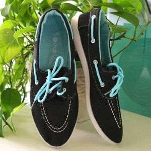 Chatties Canvas Boat Shoes Loafers